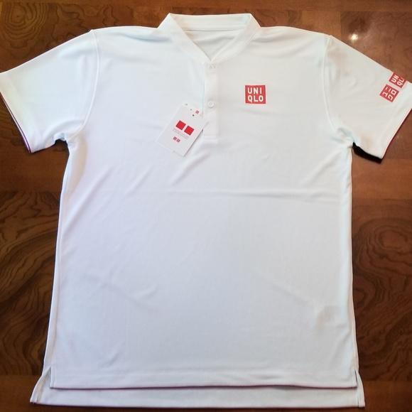 050bad2b Uniqlo Roger Federer Tennis Dry-Ex Polo Shirt. Listing Price: $68.00